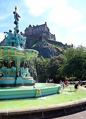Hot Weather, Edinburgh, 26 July 2018