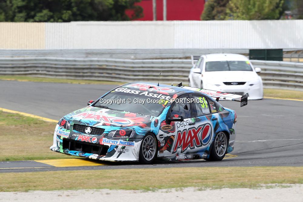 Greg Murphy (Pepso Max Crew Holden). 2012 V8 Supercar Championship Series Test Day. Sandown International Raceway, Melbourne Victoria on Saturday 11 February 2012. Photo : Clay Cross / photosport.co.nz