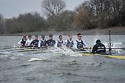 London. UNITED KINGDOM.   Tideway Week. 162nd BNY Mellon Boat Race  and The 71st Newton Women's Boat Race on the Championship Course, River Thames, Putney/Mortlake.  Saturday  26/03/2016    [Mandatory Credit. Intersport Images]<br /> <br /> Oxford University Boat Club {OUBC}<br /> <br /> Oxford, Crew, Bow: George McKirdy – 76.8kg, 2: James White – 87.0kg, 3: Morgan Gerlak – 85.8kg, 4: Joshua Bugajski – 96.4kg, 5: Leo Carrington – 87.0kg, 6: Jørgen Tveit – 82.4kg, 7: Jamie Cook – 84.0kg, Stroke: Nik Hazell – 94.8kg, Cox: Sam Collier – 56.2kg