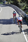 Road Cyclists photographed Costa Brava, Catalonia, Spain