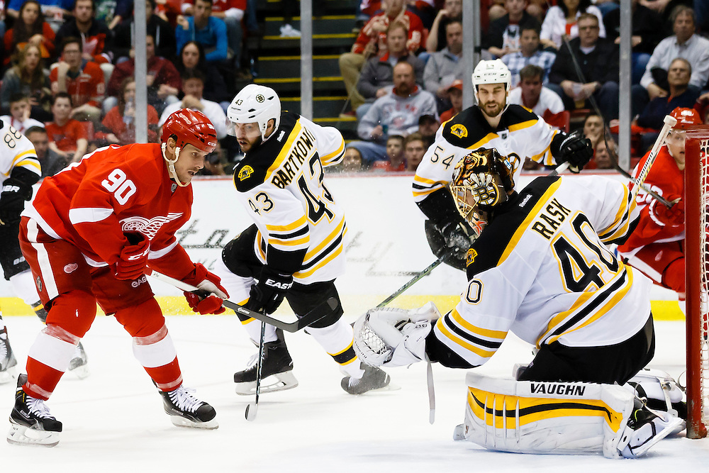 Apr 2, 2015; Detroit, MI, USA; at Joe Louis Arena. Mandatory Credit: Rick Osentoski-USA TODAY Sports