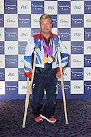 LONDON - SEPTEMBER 05: Lee Pearson attended the Paralympic Ball 2012, Grosvenor House Hotel, London, UK. September 05, 2012. (Photo by Richard Goldschmidt)