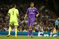 02.06.2017 - Cardiff - Finale di Champions League -  Juventus-Real Madrid nella  foto: Cristiano Ronaldo e Gianluigi Buffon