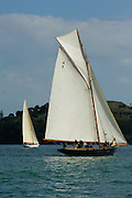 Tawera (A18) and Waitangi (A6) start the around Rangitoto race of the Lindauer Classic Yacht Regatta. 18/2/2006