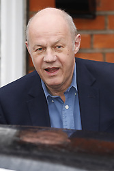 © Licensed to London News Pictures. 21/12/2017. London, UK. Damian Green is seen leaving home after he resigned as first minister yesterday. Mr Green has been under investigation after pornographic images were found on his Parliamentary computer and allegations of inappropriate advances towards a female activist. London, UK. Photo credit: Peter Macdiarmid/LNP