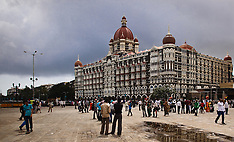Gateway of India and Taj Mahal Hotel, Mumbai, India