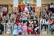 Glasgow primary school pupils take part in he Biggest Book Show on Earth at the Glasgow Royal Concert Hall. <br /> <br /> The Biggest Book Show on Earth is organised by World Book Day UK as part of the annual celebration of books and reading.Glasgow Royal Concert Hall, Glasgow, 27/02/2017