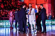 Stefano Gentile<br /> Banco di Sardegna Dinamo Sassari - Acqua San Bernardo Cantu'<br /> LBA Serie A Postemobile 2018-2019<br /> Sassari, 12/05/2019<br /> Foto L.Canu / Ciamillo-Castoria