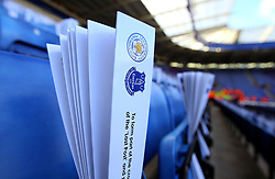 Hand clapper at the King Power Stadium ahead of Leicester City v Everton - Mandatory by-line: Robbie Stephenson/JMP - 29/10/2017 - FOOTBALL - King Power Stadium - Leicester, England - Leicester City v Everton - Premier League