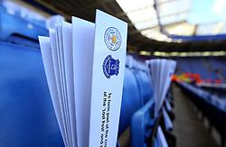 Hand clapper at the King Power Stadium ahead of Leicester City v Everton - Mandatory by-line: Robbie Stephenson/JMP - 29/10/2017 - FOOTBALL - King Power Stadium - Leicester, England - Leicester City v Everton - Premier League