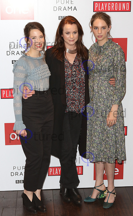 Annes Elwy, Emily Watson, Maya Thurman-Hawke, Little Women - Special Q&A Screening, The Soho Hotel, London UK, 11 December 2017, Photo by Richard Goldschmidt