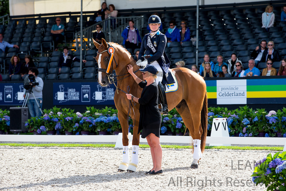 Jeanna Hogberg - Fiorucci HT<br /> Longines FEI/WBFSH World Breeding Dressage Championships for Young Horses 2016<br /> &copy; DigiShots