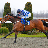 Tadabeer and Stevie Donohoe winning the 3.20 race