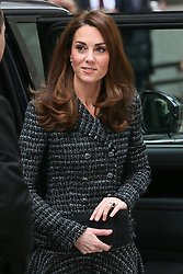 Catherine, Duchess of Cambridge arriving at Royal Foundation 'Mental Health In Education' Conference at Mercers Hall - London<br />