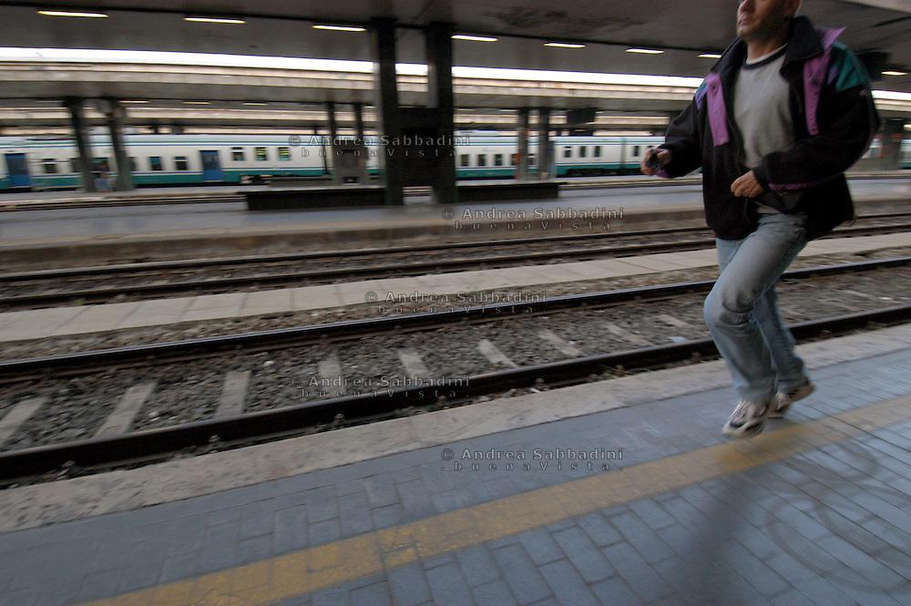 Roma, 07/05/2005: stazione Termini.<br /> &copy; Andrea Sabbadini