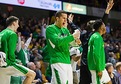 Dec 17, 2015; Charleston, WV, USA; Marshall Thundering Herd players celebrate on the bench after a made three pointer during the first half against the West Virginia Mountaineers at the Charleston Civic Center . Mandatory Credit: Ben Queen-USA TODAY Sports