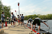 Brighton, MA 051013  Afternoon classes at Community Rowing Inc. rowers, on the Charles RiverMay 10, 2013. (photos by Essdras M Suarez/ EMS Photography©)