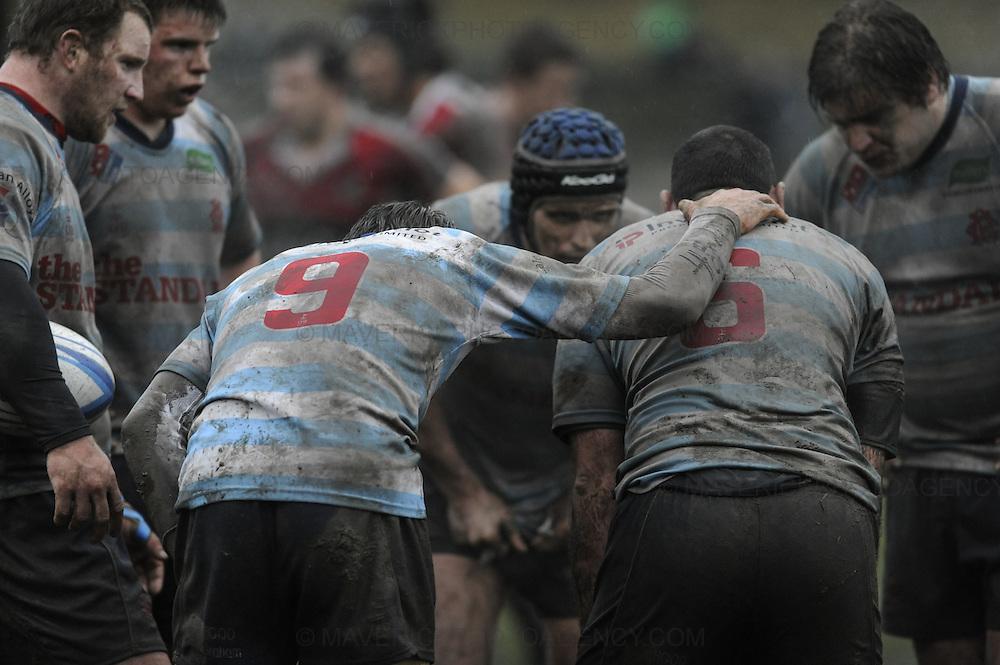 Rugby match between the Edinburgh Accies and Glasgow Hawks.
