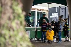 Royal Marines - Mandatory by-line: Dougie Allward/JMP - 23/02/2020 - RUGBY - Sandy Park - Exeter, England - Exeter Chiefs v Northampton Saints - Gallagher Premiership Rugby