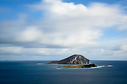 Manana Island on the island of Oahu (commonly referred to as Rabbit Island)