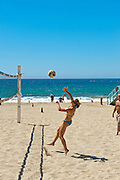 Redondo Beach; CA; Torrance Beach; Pier, Surf, Sand, Volleyball, Ocean Waves, Sunbathing, Activities
