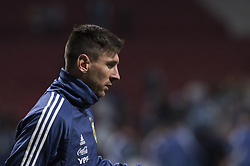 March 22, 2019 - Madrid, Madrid, Spain - Lionel Messi of Argentina during the Friendly football match between Argentina and Venezuela at Wanda Metropolitano Stadium in 22 March 2019, Madrid, Spain, preparatory for the Copa América Brazil 2019 to be played from June 14 to July 7. (Credit Image: © Patricio Realpe/NurPhoto via ZUMA Press)