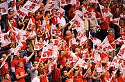 DESCRIZIONE : Milano Lega A 2011-12 EA7 Olimpia Milano MontePaschi Siena Gara3<br /> GIOCATORE : Tifosi Supporters<br /> CATEGORIA : Tifosi Supporters<br /> SQUADRA : EA7 Olimpia Milano <br /> EVENTO : Campionato Lega A 2011-2012 Play Off Finali Gara3<br /> GARA : EA7 Olimpia Milano MontePaschi Siena Gara3 <br /> DATA : 13/06/2012<br /> SPORT : Pallacanestro <br /> AUTORE : Agenzia Ciamillo-Castoria/A.Giberti<br /> Galleria : Lega Basket A 2011-2012 <br /> Fotonotizia : Milano Lega A 2011-12 EA7 Olimpia Milano MontePaschi Siena Gara3<br /> Predefinita :