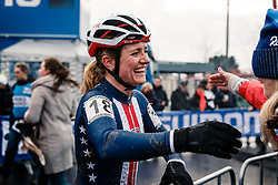 Ellen NOBLE of USA after the Women Under 23 race, UCI Cyclo-cross World Championship at Bieles, Luxembourg, 28 January 2017. Photo by Pim Nijland / PelotonPhotos.com | All photos usage must carry mandatory copyright credit (Peloton Photos | Pim Nijland)