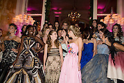 SOKHNA NDOUR; BILLIE LOURD; HON PHILIPPA CADOGAN; SARAH MELLON; BEHIND; INDIA OXENBERG; SCOUT WILLIS.  The 2008 Crillon Debutante Ball, Crillon Hotel. Paris. 29 November 2008 *** Local Caption *** -DO NOT ARCHIVE -Copyright Photograph by Dafydd Jones. 248 Clapham Rd. London SW9 0PZ. Tel 0207 820 0771. www.dafjones.com
