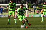 Forest Green Rovers George Williams(11) runs forward during the EFL Sky Bet League 2 match between Forest Green Rovers and Milton Keynes Dons at the New Lawn, Forest Green, United Kingdom on 30 March 2019.