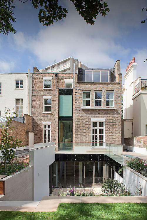 Modern house extension london andy spain architectural for Modern architecture house london