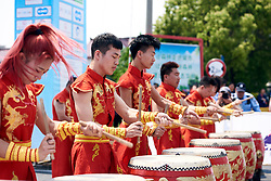 Local performers at Tour of Chongming Island 2019 - Stage 2, a 126.6 km road race from Changxing Island to Chongming Island, China on May 10, 2019. Photo by Sean Robinson/velofocus.com
