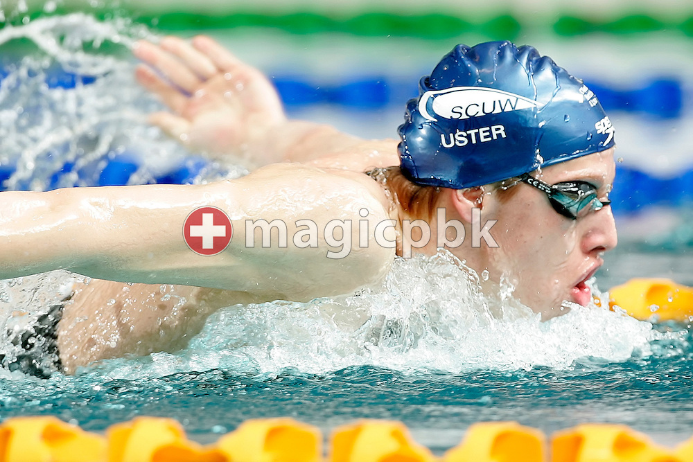SCUW's Alexandre LIESS of Switzerland competes in the men's 200m Butterfly heats at the Swiss Swimming Championships in Zurich (Zuerich) Oerlikon, Switzerland, Friday, March 20, 2009. (Photo by Patrick B. Kraemer / MAGICPBK)