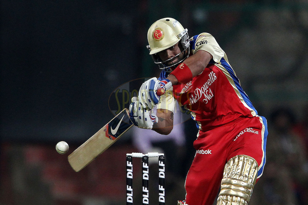 Virat Kohli during match 47 of the the Indian Premier League ( IPL ) Season 4 between the Royal Challengers Bangalore and the Kings XI Punjab held at the Chinnaswamy Stadium, Bangalore, Karnataka, India on the 6th May 2011..Photo by Ron Gaunt/BCCI/SPORTZPICS
