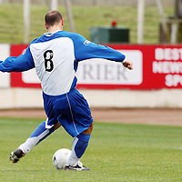 St Johnstone v Hamilton Accies....29.09.07<br /> Paul Sheerin scores from the spot to make it 1-1<br /> Picture by Graeme Hart.<br /> Copyright Perthshire Picture Agency<br /> Tel: 01738 623350  Mobile: 07990 594431