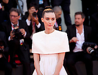 Venice, Italy, 31st August 2019, Rooney Mara at the gala screening of the film Joker at the 76th Venice Film Festival, Sala Grande. Credit: Doreen Kennedy