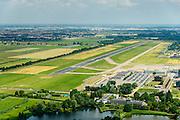 Nederland, Zuid-Holland, Rotterdam, 10-06-2015; stadsdeel Overschie, Vliegveld Zestienhoven.<br /> Overschie, northern Rotterdam with airport.<br /> luchtfoto (toeslag op standard tarieven);<br /> aerial photo (additional fee required);<br /> copyright foto/photo Siebe Swart