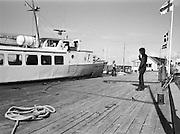 Tankning av båt i Klintehamn