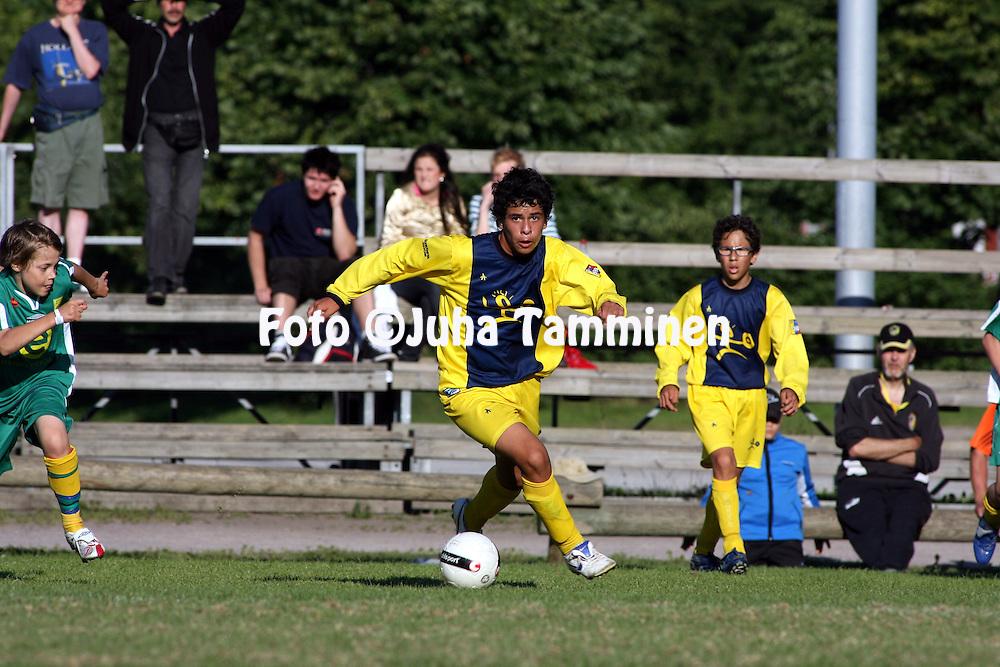 10.07.2008. Kumpula, Helsinki..Helsinki Cup 2008.D-13, Academia Emeritense (Venezuela) - KP-75.©Juha Tamminen