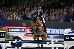 Brash Scott (GBR) - Ursula XII <br /> Longines FEI World Cup™ Jumping Final 2013/2014  -  Lyon 2014<br /> © Dirk Caremans
