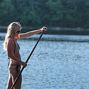 A wonderful evening at Hot House Pond  at Hot House Pond, Matunuck, Rhode Island, USA August52013. Photo: Tripp Burman