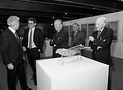 19/08/1988<br /> 08/19/1988<br /> 19 August 1988<br /> Taoiseach visits ROSC '88 at the Guinness Hop Store, Dublin.   Pictured are: Taoiseach Charles Haughey (centre); Mr Brian Slowey, (right) Managing Director, Guinness,Ireland and Pat Murphy ROSC Chairman (left).