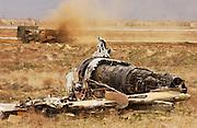 Bagram Airport anti-mining operation