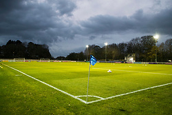 BANGOR, WALES - Friday, November 10, 2017: A general view of the stadium ahead of the UEFA Under-21 European Championship Qualifying Group 8 match between Wales and Bosnia and Herzegovina at the Nantporth Stadium. (Pic by Paul Greenwood/Propaganda)