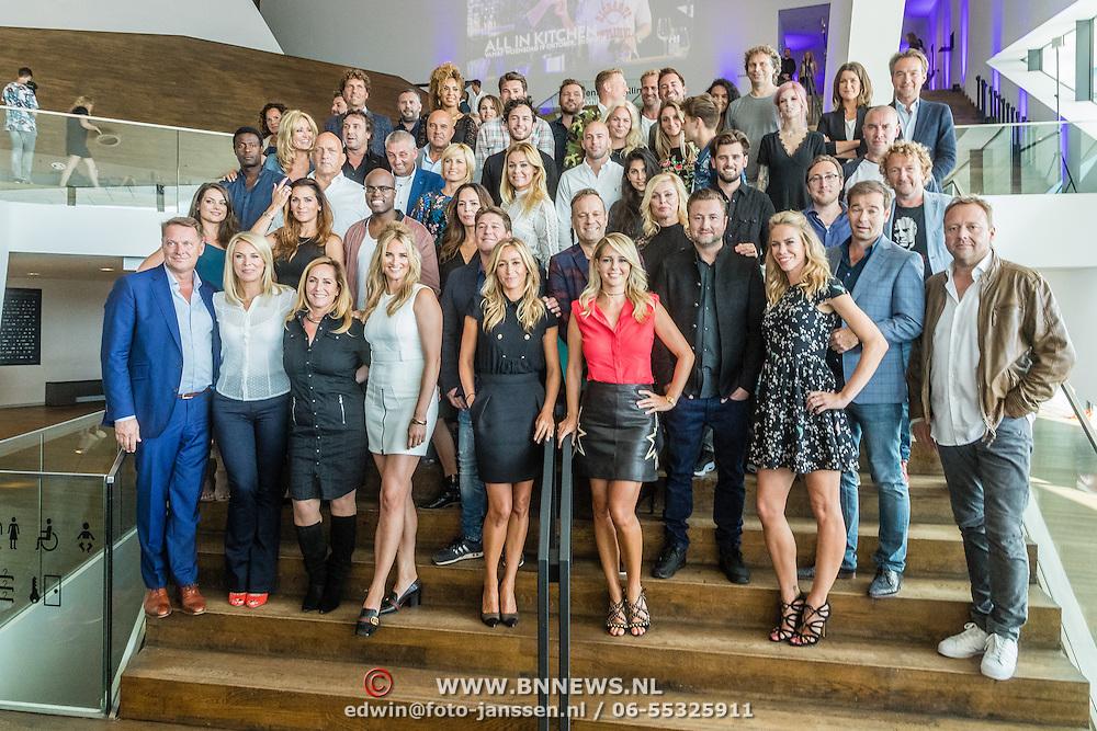 NLD/Amsterdam/20160829 - Seizoenspresentatie RTL 2016 / 2017, Presenattoren RTL