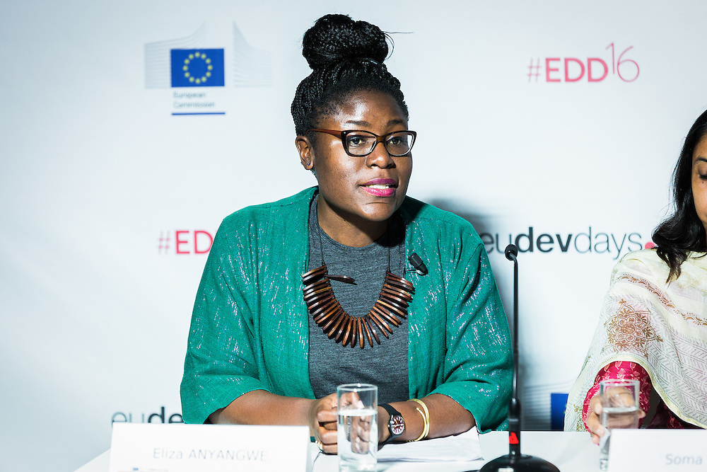 20160615 - Brussels , Belgium - 2016 June 15th - European Development Days - Will energy access alone end poverty ? - Eliza Anyangwe , Freelance writer and Founder , TheNzingaEffect.com © European Union