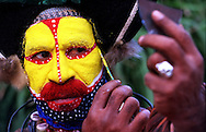 Copyright Jim Rice © 2013.<br /> Tibes man.<br /> Papua New Guinea.