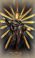 """Glorious Madonna of Sorrows - Cathedral of San Rufino, Assisi - Brightening""...<br />