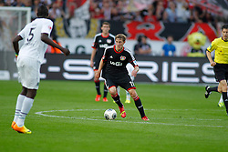 28.09.2013, BayArena, Leverkusen, GER, 1. FBL, Bayer 04 Leverkusen vs Hannover 96, 7. Runde, im Bild Stefan Kiessling #11 (Bayer 04 Leverkusen) // during the German Bundesliga 7th round match between Bayer 04 Leverkusen and Hannover at the BayArena, Leverkusen, Germany on 2013/09/28. EXPA Pictures © 2013, PhotoCredit: EXPA/ Eibner/ Grimme<br /> <br /> ***** ATTENTION - OUT OF GER *****