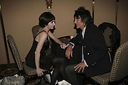 Tamara Rojo and Ronnie Wood, The South Bank Show Awards, Savoy Hotel. London. 23 January 2007.  -DO NOT ARCHIVE-© Copyright Photograph by Dafydd Jones. 248 Clapham Rd. London SW9 0PZ. Tel 0207 820 0771. www.dafjones.com.